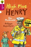 Cover for Oxford Reading Tree All Stars: Oxford Level 10 High Five Henry Level 10 by Alan Macdonald, Alison Sage