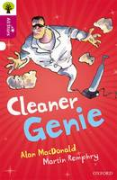 Cover for Oxford Reading Tree All Stars: Oxford Level 10 Cleaner Genie Level 10 by Alan Macdonald, Alison Sage