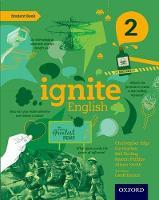 Cover for Ignite English: Student Book 2 by Christopher Edge, Liz Hanton, Mel Peeling, Martin Phillips
