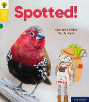 Cover for Oxford Reading Tree Word Sparks: Level 5: Spotted! by Catherine Veitch