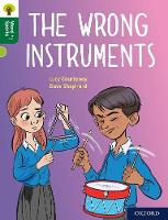 Cover for Oxford Reading Tree Word Sparks: Level 12: The Wrong Instruments by Lucy Courtenay