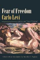 Cover for Fear of Freedom With the Essay Fear of Painting by Carlo Levi