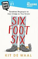 Cover for Six Foot Six by Kit de Waal