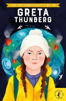 Cover for The Extraordinary Life of Greta Thunberg by Devika Jina