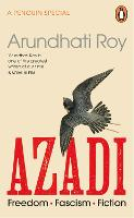 Cover for AZADI  by Arundhati Roy
