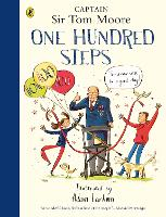 Cover for One Hundred Steps: The Story of Captain Sir Tom Moore by Captain Tom Moore