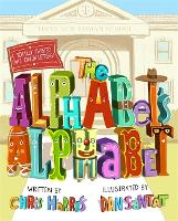Cover for The Alphabet's Alphabet by Chris Harris