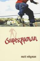 Cover for Superhuman by Matthew Whyman