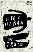 Cover for If This Is A Man/The Truce Hachette Essentials by Primo Levi