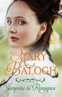 Cover for Someone to Romance by Mary Balogh