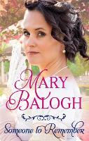 Cover for Someone to Remember by Mary Balogh