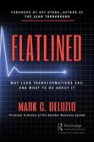 Cover for Flatlined  by Mark C. DeLuzio