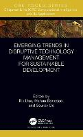 Cover for Emerging Trends in Disruptive Technology Management for Sustainable Development by Rik Das