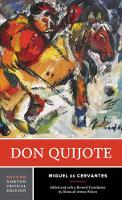 Cover for Don Quijote by Miguel de Cervantes