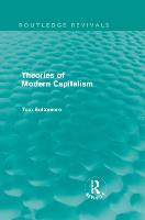Cover for Theories of Modern Capitalism by Tom Bottomore