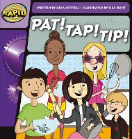 Cover for Rapid Phonics Step 1: Pat! Tap! Tip! (Fiction) by Gina Nuttall