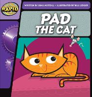 Cover for Rapid Phonics Step 1: Pad the Cat (Fiction) by Gina Nuttall