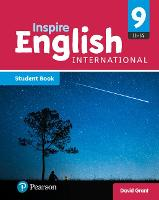 Cover for iLowerSecondary English Student Book Year 9 by David Grant