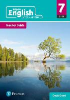 Cover for iLowerSecondary English Teacher Planning Year 7 by David Grant