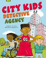 Cover for Bug Club Shared Reading: City Kids Detective Agency (Year 2) by Jem Packer