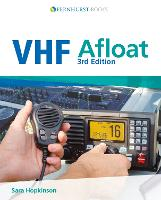 Cover for VHF Afloat by Sara Hopkinson