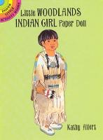 Cover for Little Woodlands Indian Girl Paper Doll by Kathy Allert
