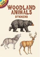 Cover for Woodland Animals Stickers by Dianne Gaspas