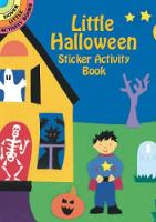 Cover for Halloween Sticker Activity Book by Winky Adam