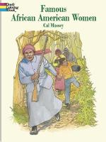 Cover for Famous African-American Women by Cal Massey