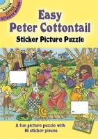 Cover for Easy Peter Cottontail Sticker Picture Puzzle by Pat Stewart