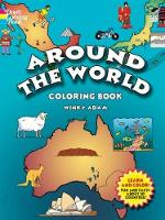 Cover for Around the World Coloring Book by Winky Adam