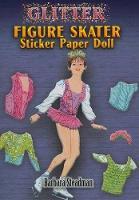 Cover for Glitter Figure Skater Sticker Paper Doll by Barbara Steadman