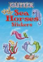 Cover for Glitter Sea Horses Stickers by Nina Barbaresi