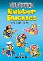 Cover for Glitter Rubber Duckies Stickers by Nina Barbaresi