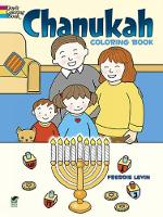 Cover for Chanukah Coloring Book by Freddie Levin