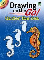 Cover for Drawing on the Go! Under the Sea by Barbara Levy