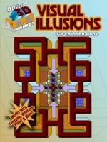 Cover for 3-D Coloring Book - Visual Illusions by Spyros Horemis