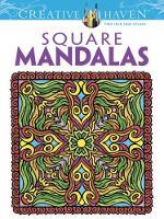 Cover for Creative Haven Square Mandalas by Alberta Hutchinson