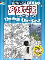 Cover for Build a Giant Poster Coloring Book--Under the Sea by Jan Sovak