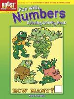Cover for BOOST Fun with Numbers Coloring Activity Book by Anna Pomaska