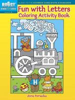 Cover for BOOST Fun with Letters Coloring Activity Book by Anna Pomaska