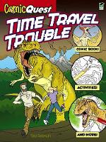 Cover for ComicQuest TIME TRAVEL TROUBLE by Ted Rechlin