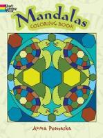 Cover for Mandalas Coloring Book by Anna Pomaska
