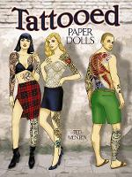 Cover for Tattooed Paper Dolls by Ted Menten