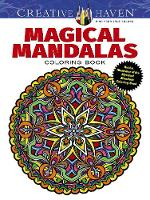 Cover for Creative Haven Magical Mandalas Coloring Book by Alberta Hutchinson