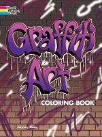 Cover for Graffiti Art Coloring Book by Jeremy Elder