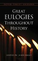 Cover for Great Eulogies Throughout History by James Daley
