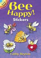 Cover for Bee Happy! Stickers by Cathy Beylon