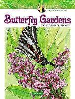 Cover for Creative Haven Butterfly Gardens Coloring Book by Ruth Soffer