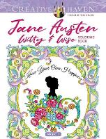Cover for Creative Haven Jane Austen Witty & Wise Coloring Book by Marty Noble